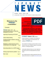 Pipenet News Summer 2008
