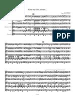 Cand Toti Ai Tai Prieteni - Score and Parts orchestra mandoline