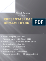 kasus demam tifoid