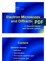 2. Electron Source and Vacuum System - Electron Microscopy and Diffraction
