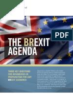 The Brexit Agenda