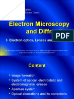 3. Electron Optics, Lenses and Apertures - Electron Microscopy and Diffraction