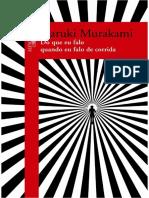 Do Que Eu Falo Quando Eu Falo d - Haruki Murakami