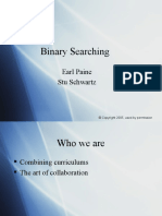 Binary Searching