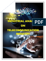 Indian Telecom  Industry Analysis