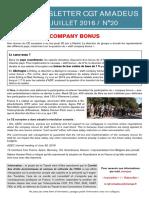 Newsletter 20 - Company Bonus