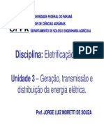 Fornecimento de Energia Eletrica Geracao Tranmissao Distribuicao