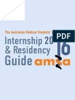 AMSA%27s 2016 Internship %26 Residency Guide
