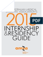 2015 AMSA Internship and Residents Guide Optimised