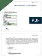 Alliance ProSys Enagagement Framework