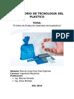 Tecnologia Del Plastico