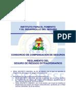 Reglamento Del Seguro de Riesgos Extraordinarios Ccs (1)