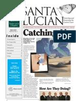 March 2010 Santa Lucian Newsletter