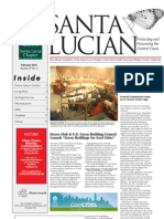 February 2010 Santa Lucian Newsletter