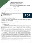 Filosofia y Epistemologia de La Educacion P00 - 2015