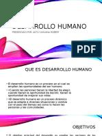 Desarrollo Humano - Realidad Peruaan