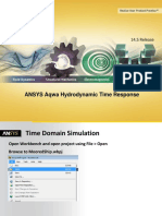 ANSYS Aqwa Hydrodynamic Time Response