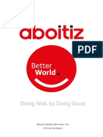 Aboitiz Equity Ventures 2014 Annual Report