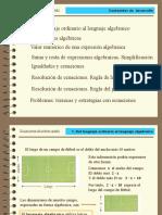 PRESENTACION 1. Ecuaciones de primer grado con una  incognita.pptx