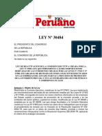 LEY Nº 30484