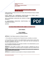 Codigo Penal del estado de Oaxaca