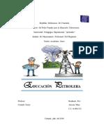 Educacion Petrolera en Venezuela