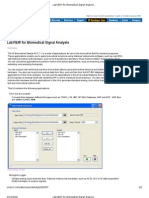 LabVIEW for Bio Medical Signal Analysis - Developer Zone - National Instruments