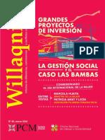 Grandes Proyectos Gestion Social Las Bambas
