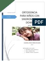 Ortodoncia en Niños Con Síndrome de Down