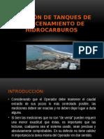 Medición de Tanques de Almacenamiento de Hidrocarburos