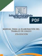 Manual de Trabajo Especial de Grado Iupsm
