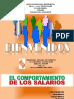 El Comportamiento de Los Salarios (Unellez-contaduría)