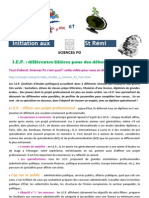 Bdi Et Initiation Sciences Po