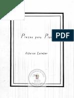 Alfonso Letelier - Piezas Para Piano
