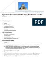 Agriculture Procurement Buffer Stock FCI Reforms and PDS.pdf