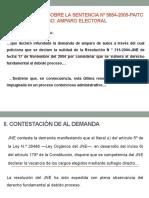 AMPARO ELECTORAL
