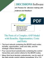 Tutorial 6 ANP Complex BOCR Model