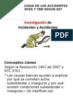 La Metodologia metodologia de Los Accidentes e Incidentes y