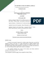 United States v. Jennings, A.F.C.C.A. (2014)