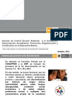 04 CapacitacionNCE 2012-2013 Octubre 2012