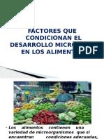 Clase 2 - Factores y Accion Micrtobiologica