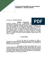 Defesa Prévia - Dirigir Alcoolizado.docx