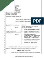 Complaint - Hammitt, Inc. v. Nordstrom, Inc. (CDCA 2016)