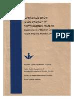 Increasing Men's Involvement in Reproductive Health