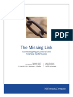 McK_Organization - The Missing Link_Working Paper