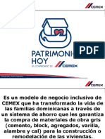 """Patrimonio hoy, un compromiso de CEMEX""."