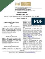 Plenaria-Orden Del Dia-Proyectos (2016!06!15) (1)