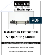 Heat Exchanger Instructions a4 English