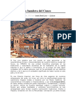 La Auténtica Bandera Del Cusco