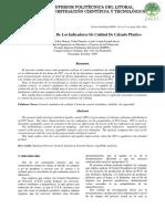 3.-Control Estadístico de Los Indicadores de Calidad de Calzado Plástico